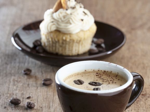 Coffee and Almond Muffins