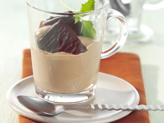 Coffee-Mint Parfaits