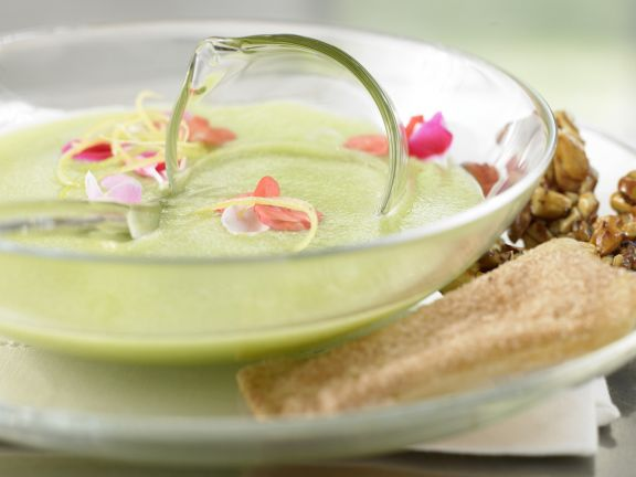 Cold Green Apple Soup