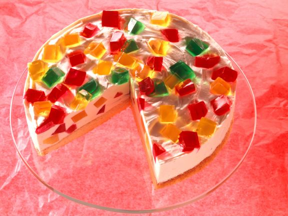 Colorful Jello Cake