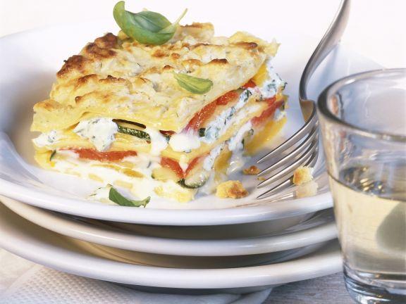 Veggie and Pasta Layer Bake