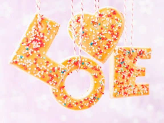 Colourful Love Cookies