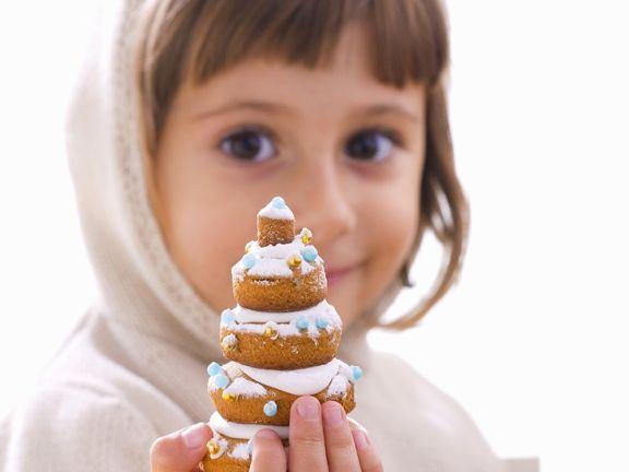 Cookie Christmas Trees