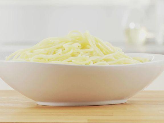 Cooking Al Dente Spaghetti