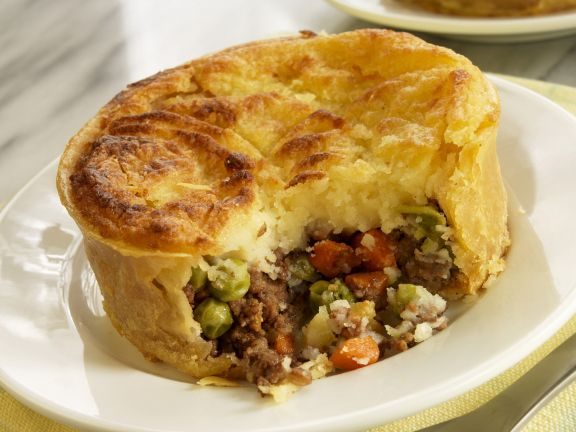 Cottage Pie with Meat and Vegetables