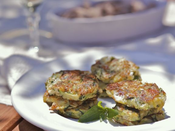 Courgette and Onion Patties