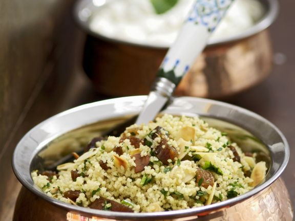 Cous Cous with Almonds
