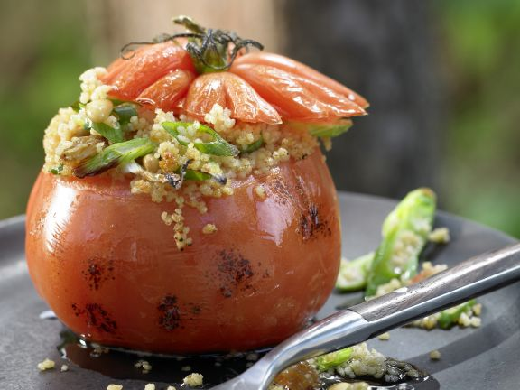 Couscous-Stuffed Grilled Tomatoes