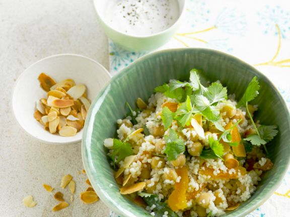 Couscous with Chickpeas and Apricots