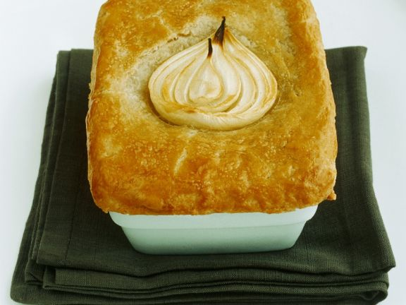 Covered Pie with Beef Filling