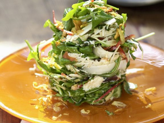 Crab Meat and Rocket Salad