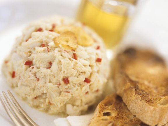 Crab Salad with Garlic