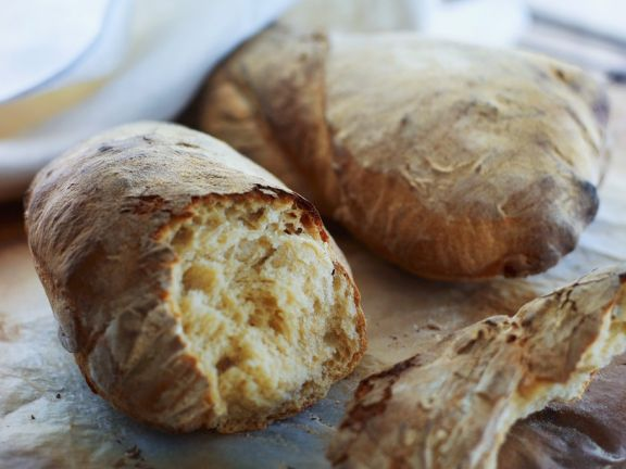 Cracked Wheat Baguettes