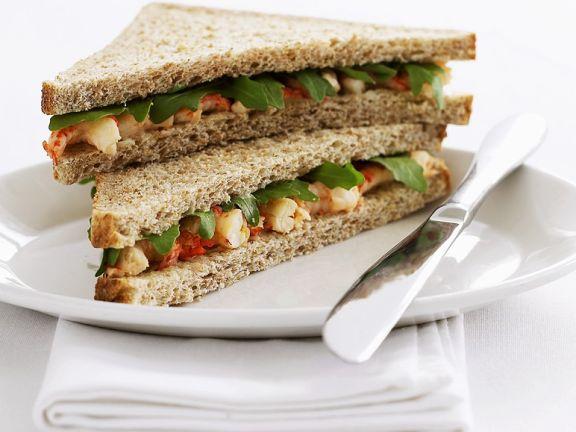 Crayfish Sandwiches