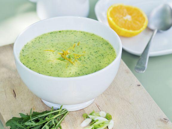 Creamy Arugula Soup