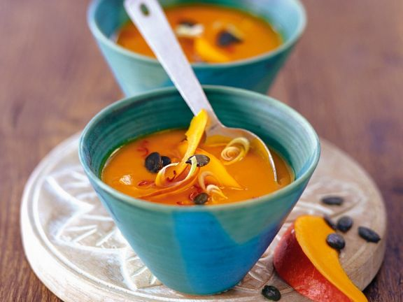 Creamy Coconut Pumpkin Soup