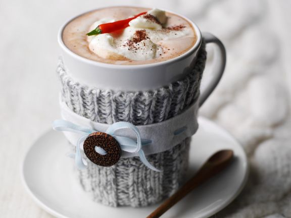 Creamy Hot Chilli Chocolate