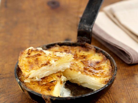 Creamy Potato and Cheese Bake
