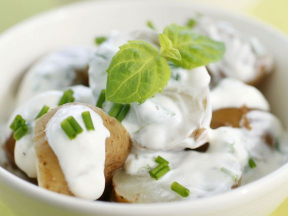 Creamy Potatoes with Herbs