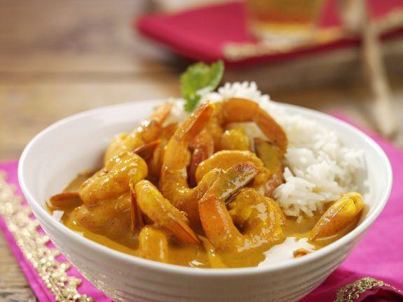 Creamy Prawn Curry