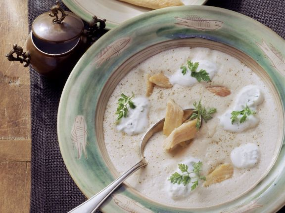 Fish Bisque with Herbs