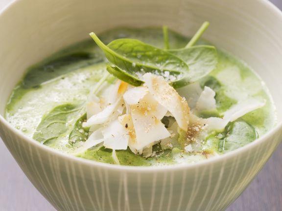 Creamy Spinach Bisque