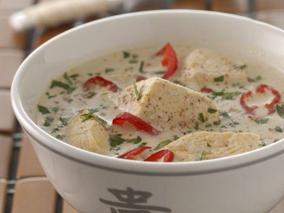 Creamy Thai Chicken Broth
