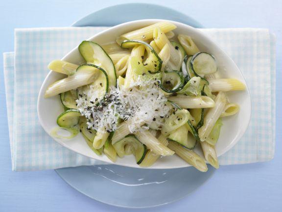 Creamy Zucchini Penne