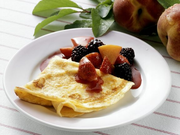 Crêpes with Fruit
