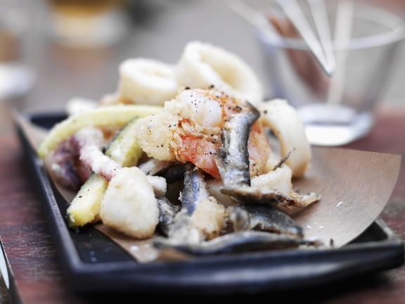 Crisp Seafood Platter