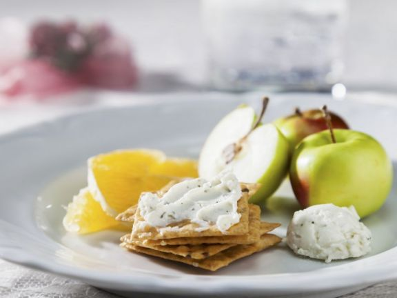 Crispbread with Soft Cheese