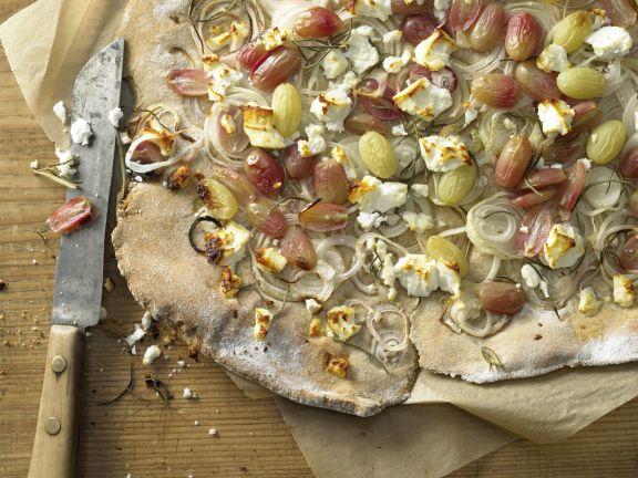 Crispy Onion Flatbread
