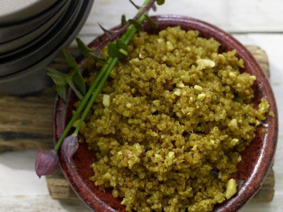 Crispy Quinoa