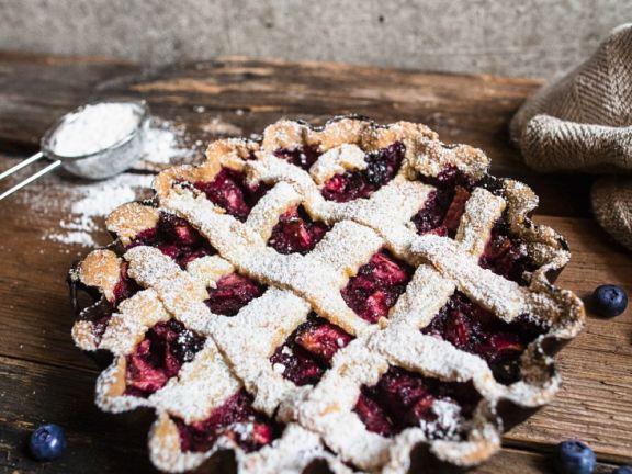Criss-cross Berry Tart