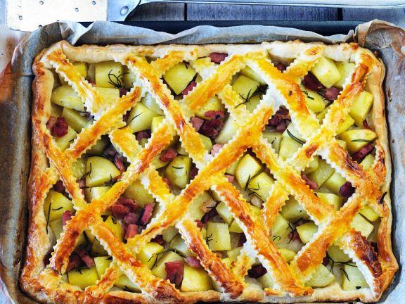 Criss-cross Pork Pie