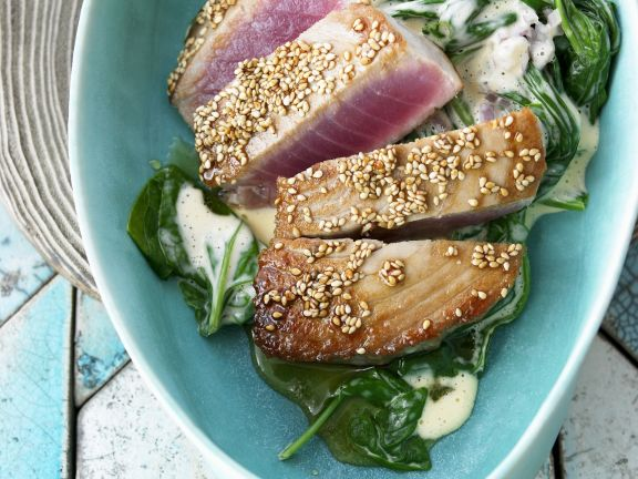 Crusted Fish Steaks