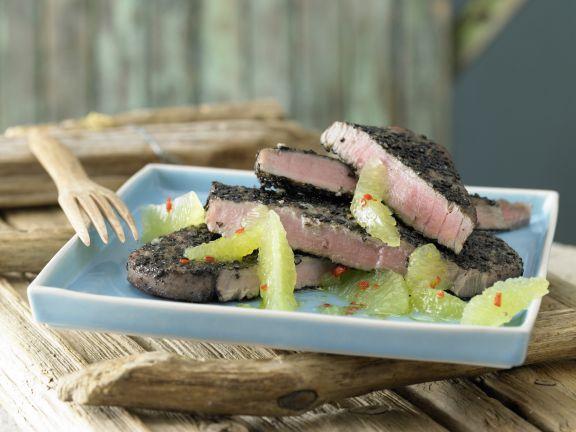 Cumin-Crusted Tuna