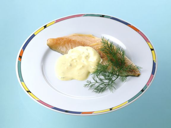 Cured Steelhead Trout with Dill Cream