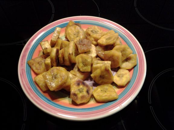 Curried Plantains