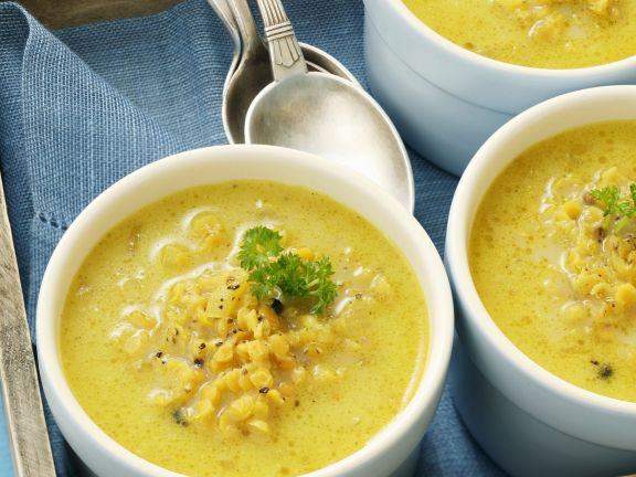 Curry Soup with Lentils