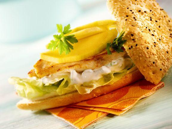 Curry Turkey Sandwich