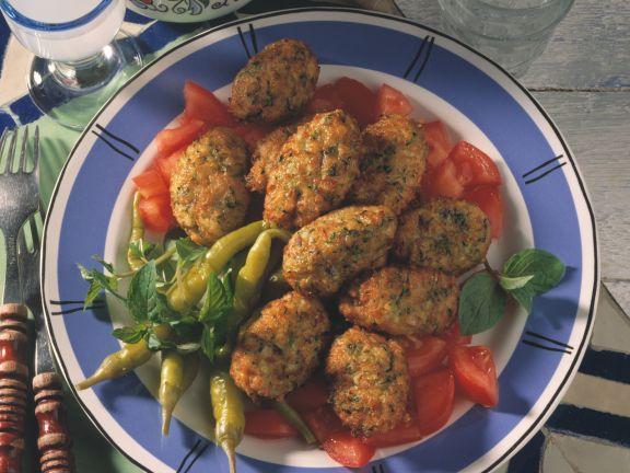 Deep Fried Zucchini Balls