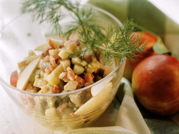 Diced Fish Salad Bowl