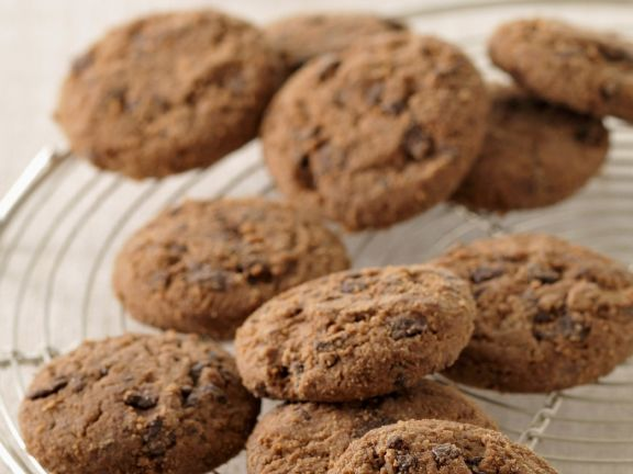 Double Choc Biscuits