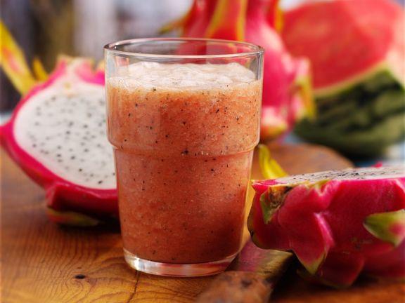 Dragon Fruit Watermelon Drink