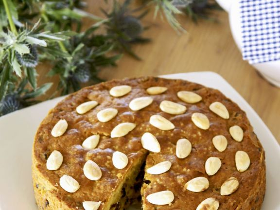 Dried Fruit and Almond Cake