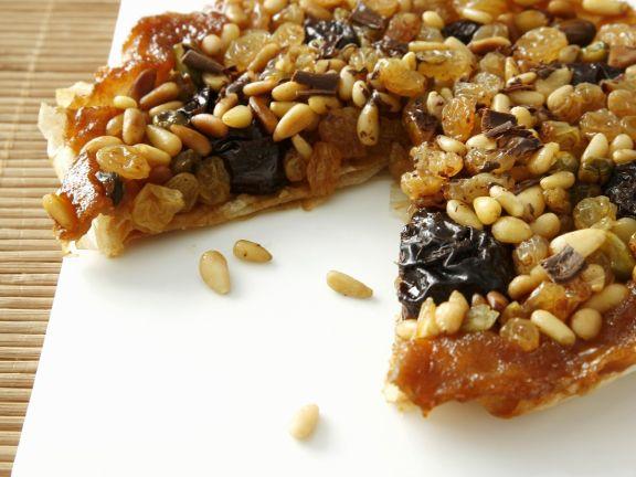 Dried Fruit and Pignoli Tart