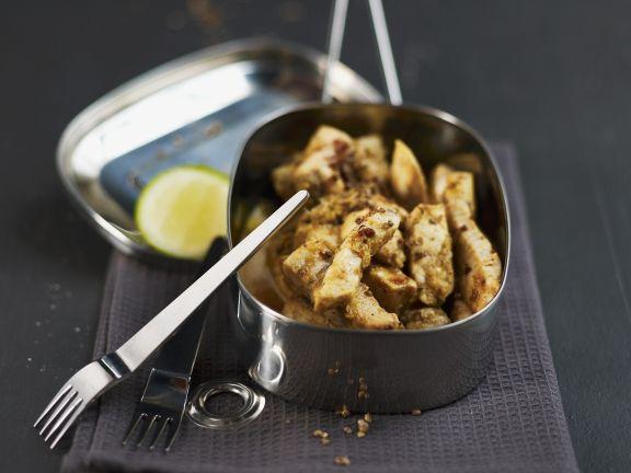 Dry Swordfish Stir-fry