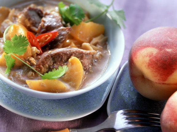 Duck and Fruit Curry
