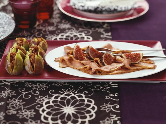 Duck Breast with Fig Sauce